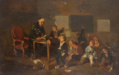 Ecole FRANÇAISE vers 1860