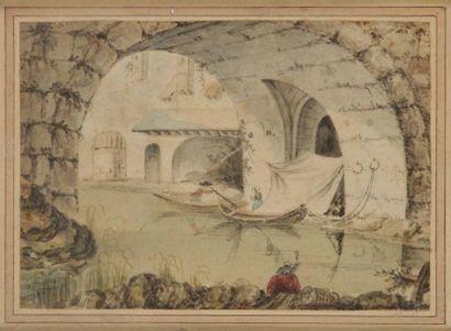 Attribué à Pietro Antonio NOVELLI. (1729 - 1804)