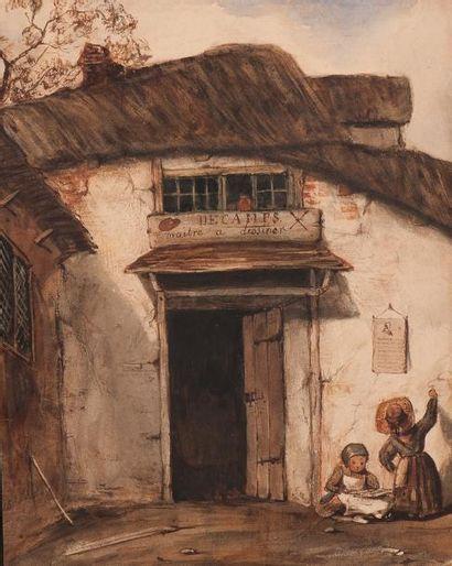 École Française du XIXe siècle, dans le goût d'Alexandre Gabriel Decamps