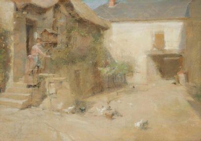 Henri Alphonse LAURENT-DESROUSSEAUX. (Joinville-le-Pont 1862 - Valmondois 1906)