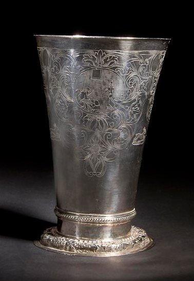 COUPE DE KIDDOUSH Francfort, Allemagne, XVIIIe...