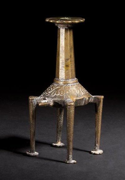 [LAMPE PERPéTUELLE] CHANDELIER Perse, XVIIIe...