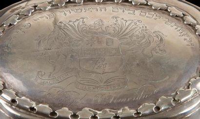 [ALMEIDA] BOÎTE À CÉDRAT Espagne, Madrid, 1766. Argent gravé, ciselé et repoussé....