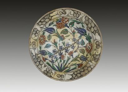 Plat tabak au bouquet, Turquie ottomane,...