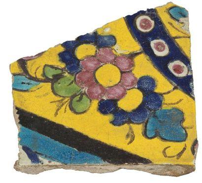 Deux fragments de céramique, Iran médiéval...