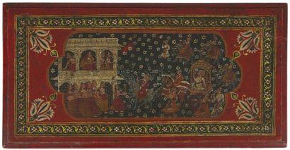 Élément de lambris, Inde Rajasthan probablement...