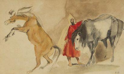 DELACROIX Eugène L'Album du Maroc, 1832. Fac-similé de l'Album du Maroc de la collection...