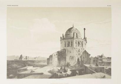 Eugène Flandin et Pascal Coste Voyage en Perse, Tehéran, 1976. Fac-similé du «Voyage...