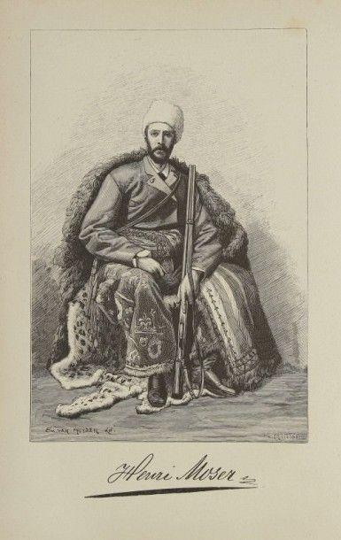 MOSER Henri À travers l'Asie centrale - la steppe kirghize, le Turkestan russe, Boukhara,...