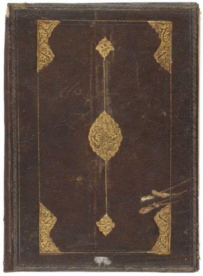 Partie de Coran signée Sayyed Mohammad surnommé...