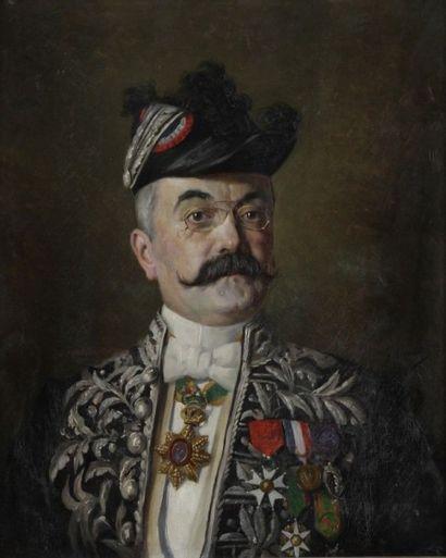 Gustave LEMAITRE<BR>Arthur Rostaing (1852 - 1928)
