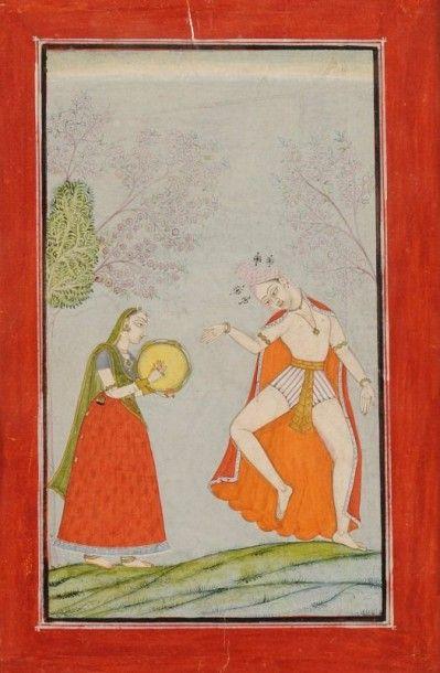 Bhramananda, Putra de Malkhos, Illustration...