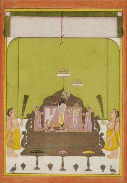 Temple de Sri Nath-ji vénéré par la secte...
