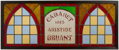 CABARET ARISTIDE BRUANT 1885 – LE MIRLITON – Alfred GRÉVIN (1827-1992) CABARET ARTISTIDE...