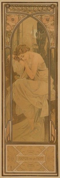 Alphonse MUCHA (1860-1939) Alfons Maria MUCHA dit