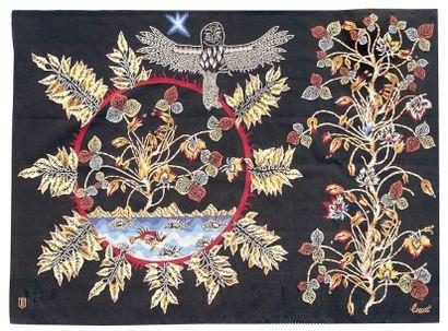 Jean LURÇAT (1892-1966) Cartonnier & Atelier BRAQUENIÉ Lissier à Aubusson