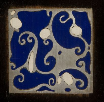 Gustav GOERKE (1881-?) Berliner Architect Exceptionnelle enfilade en placage de poirier...