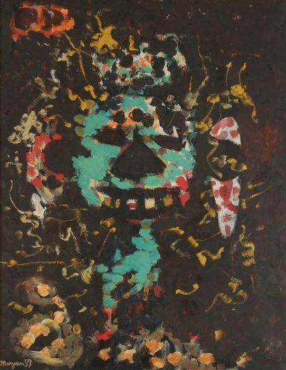 Pinchas Burstein dit MARYAN [polonais] (1927-1977)