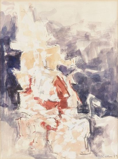Paul KALLOS [hongrois] (1928-2001)