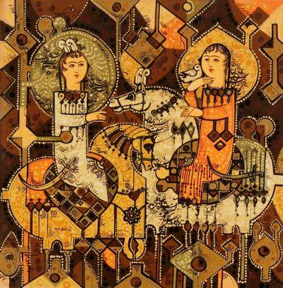 Sadegh TABRIZI [iranien]<BR>(né en 1938)