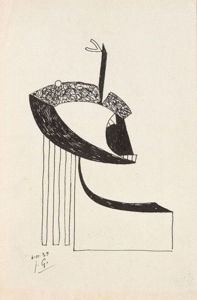 Julio GONZALES [espagnol] (1876-1942)