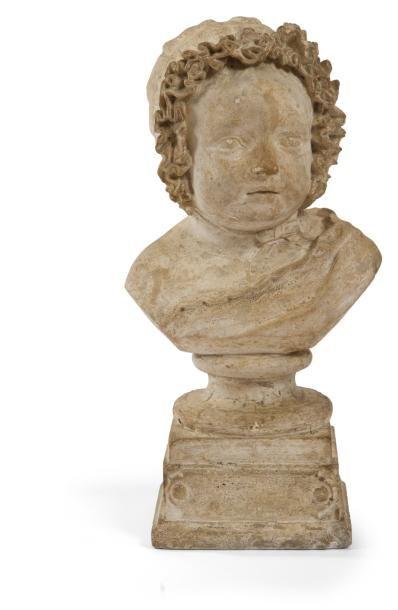 Buste du prince Louis, Philippe de Belgique,...