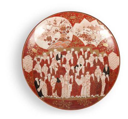 JAPON, Kutani - Epoque MEIJI (1868 - 1912)