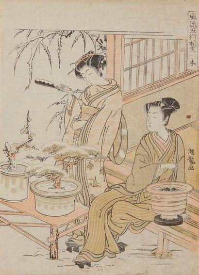 KORYUSAI (1735-1790)