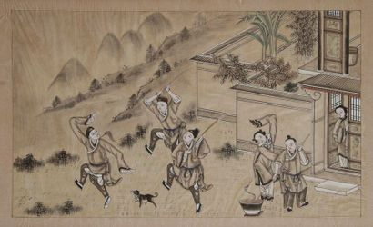 CHINE début XXe siècle