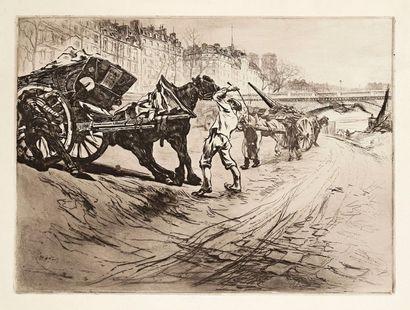 Le Tombereau. 1905