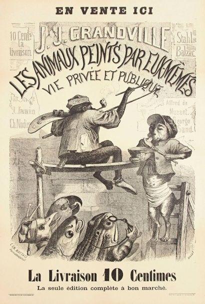 Grandville (Jean-Ignace-Isidore Gérard, dit) (1803-1847) (d'après)
