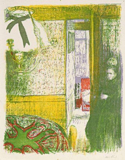 Edouard VUILLARD (1868-1940) Paysages et Intérieurs. 1899. Exceptionnelle suite complète...