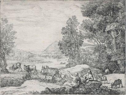 Claude Gellée, dit Le Lorrain (1600-1682)