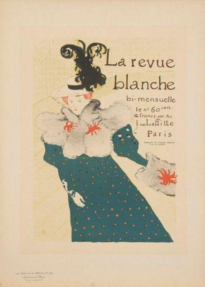LES Maîtres DE L'AFFICHE La Revue blanche...