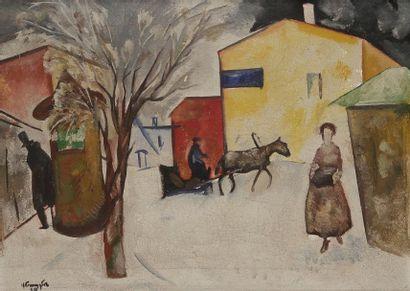Nikolaï Vladimirovich SINEZOUBOV (1891, Moscou - 1956, Paris)