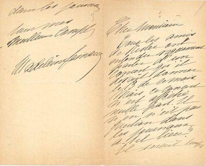 Madeleine LEMAIRE (1845-1928) peintre, amie de Proust