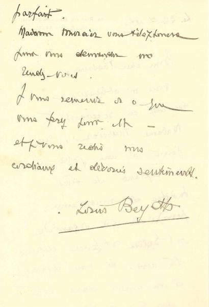 Louis BEYDTS (1895-1953)