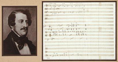 Gaetano DONIZETTI (1797-1848)