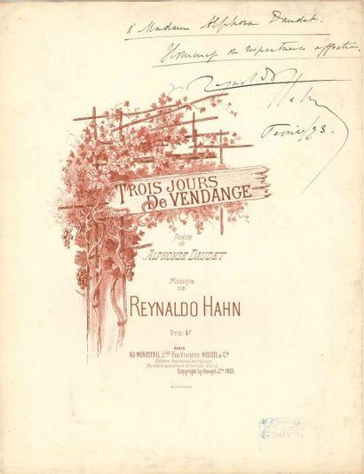 Reynaldo HAHN (1875-1947)