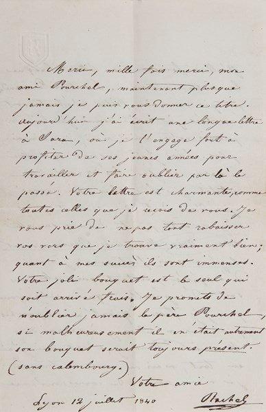 Elisabeth Félix, dite RACHEL (1821-1858)