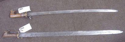 Lot de 2 sabres Nimcha