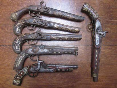 Lot de 6 pistolets pour la décoration et...