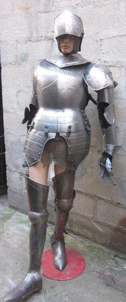 Armure de style XVIe et XVIIe, JEANNE D'ARC:...
