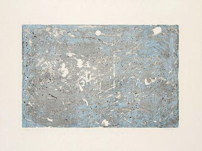 Abolfazl Beytoei (iranien, né en 1952) Composition. Gravure. 493 x 325. Impres-sion...
