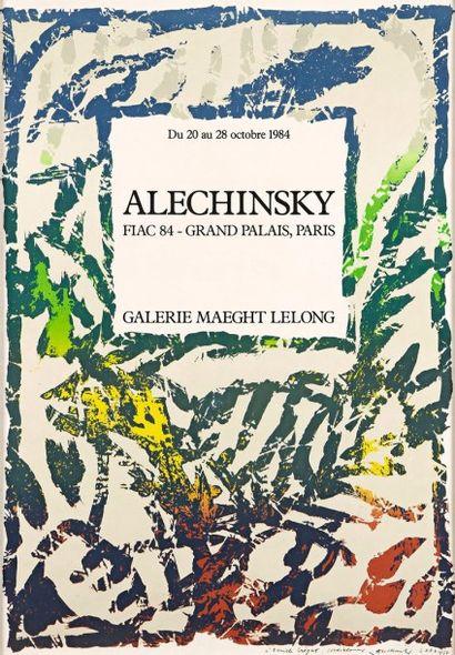 Pierre Alechinsky (belge, né en 1927)