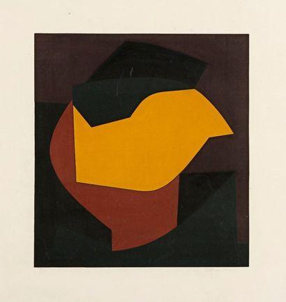 Victor Vasarely (hongrois, 1908-1997)