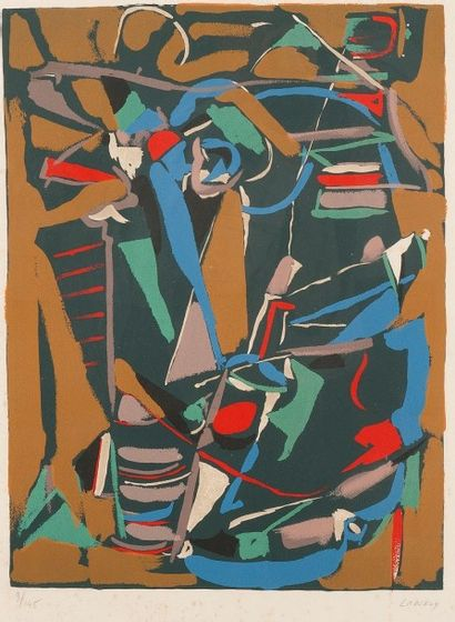 André LANSKOY [russe] (1902-1976)
