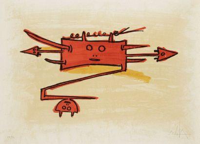 Wifredo LAM [cubain] (1902-1982)