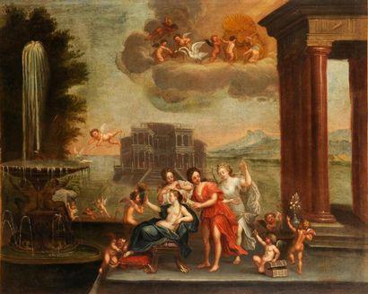 École ITALIENNE du XVIIe siècle, suiveur de Francesco ALBANI