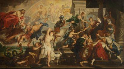 Philippe Antoine MARTEAU,<BR>d'après Pierre Paul RUBENS<BR>(Actif au XIXe siècle)